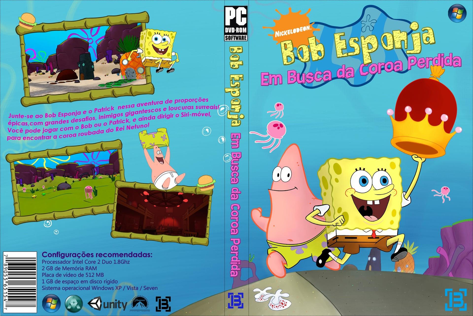 Artstation Bob Esponja Game Design Leonardo Silva