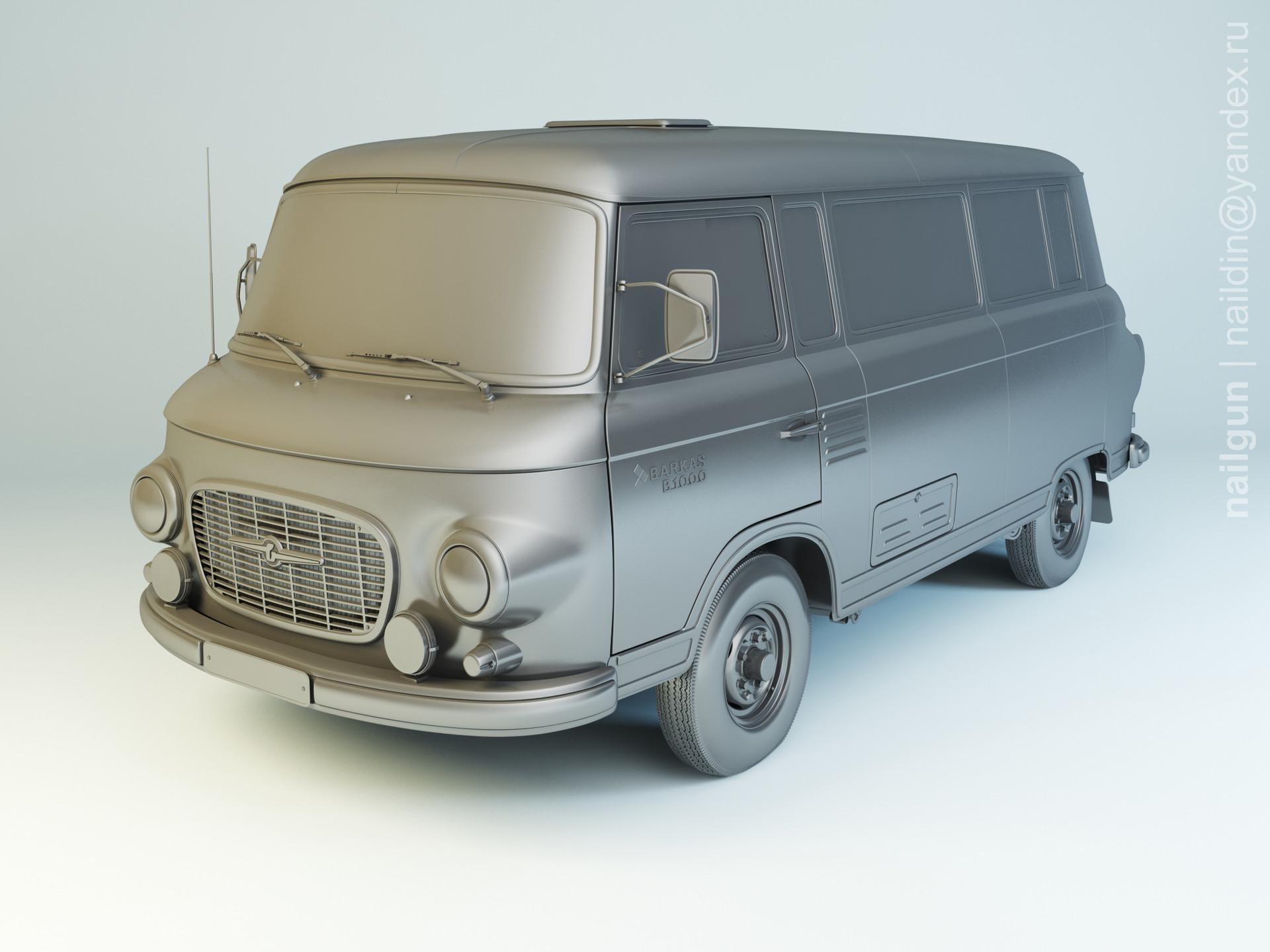 Nail khusnutdinov pwc 063 000 barkas b1000 modelling 0