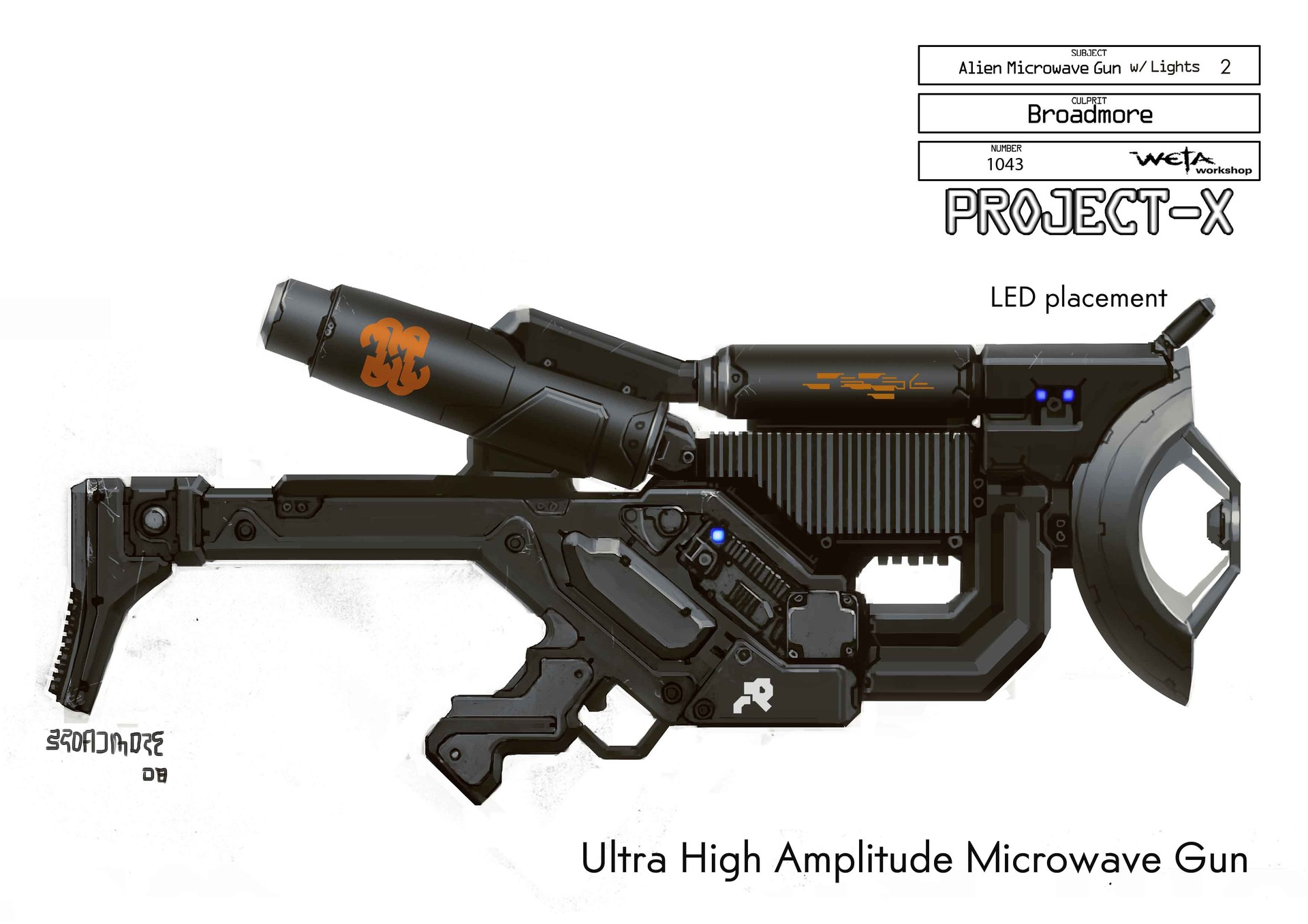 ArtStation - District 9 - Weapons and Props, WETA WORKSHOP