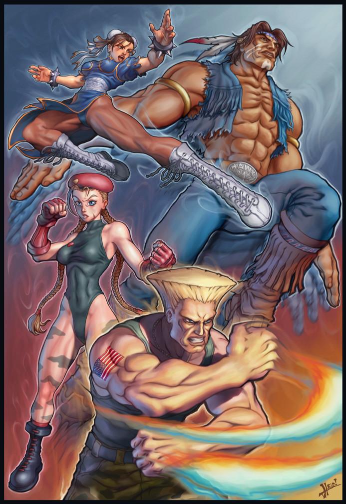 Capcom Fanart