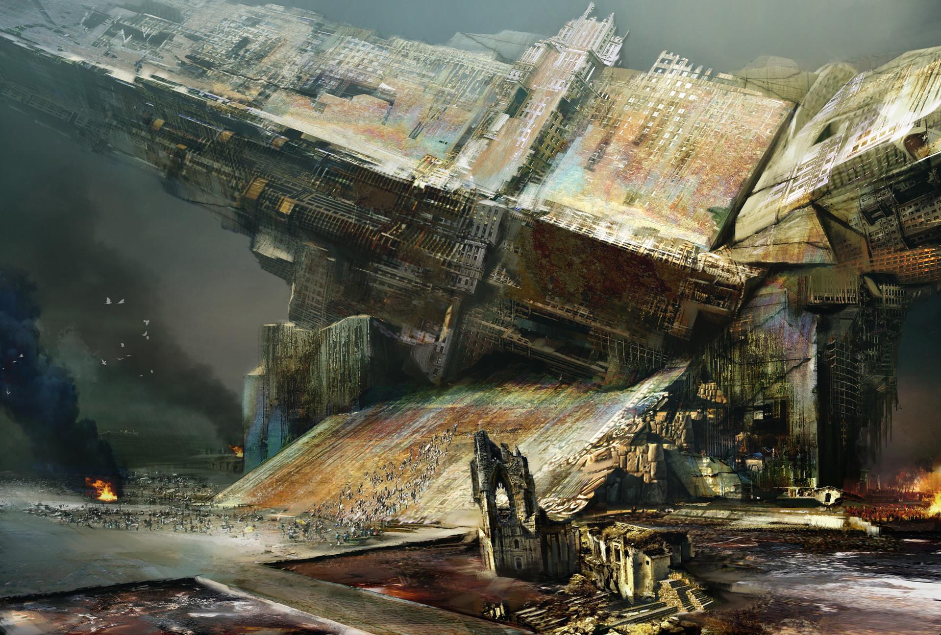 Artstation Guild Wars Orr Daniel Dociu