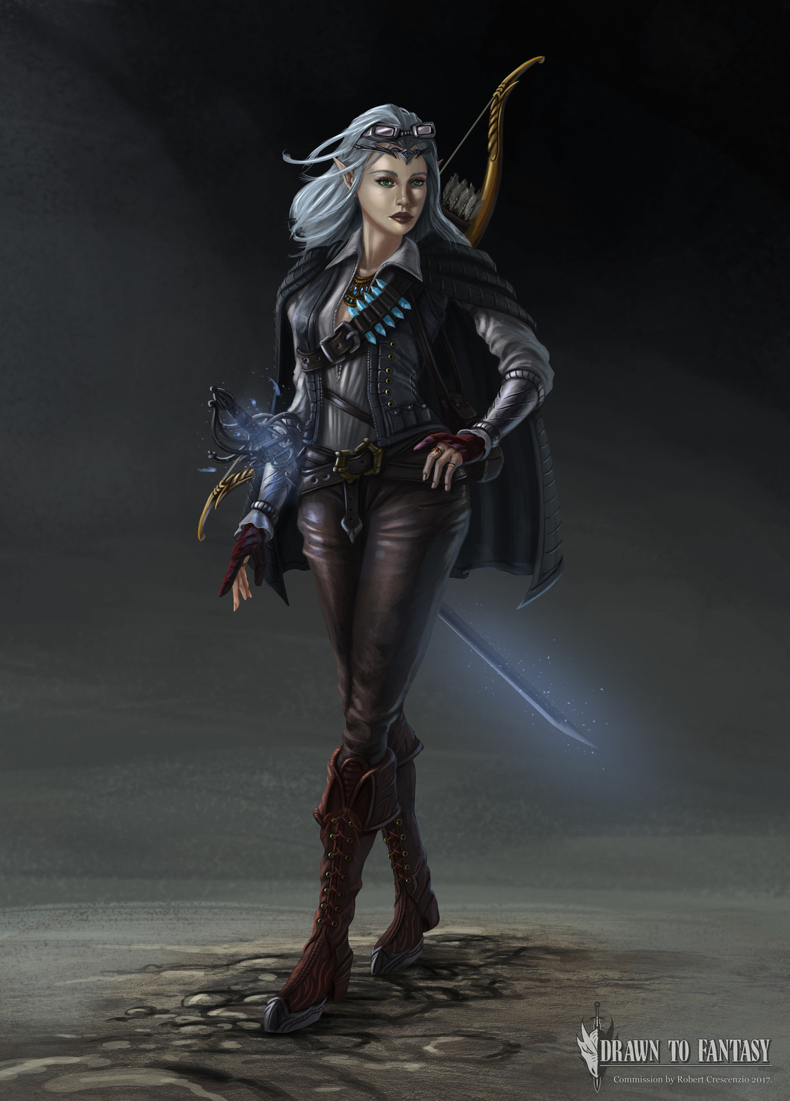Eolanna Moonhair Pathfinder Character Design