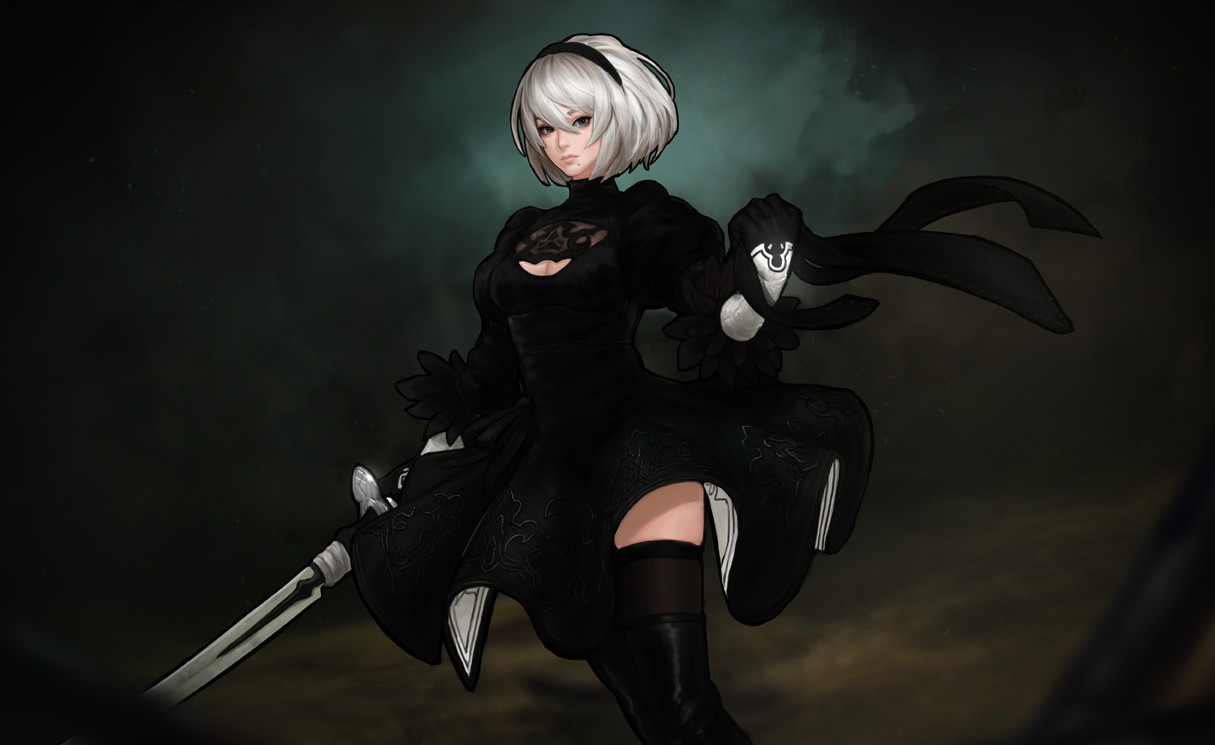 Premise Indicator Words: Nier : Automata 2B