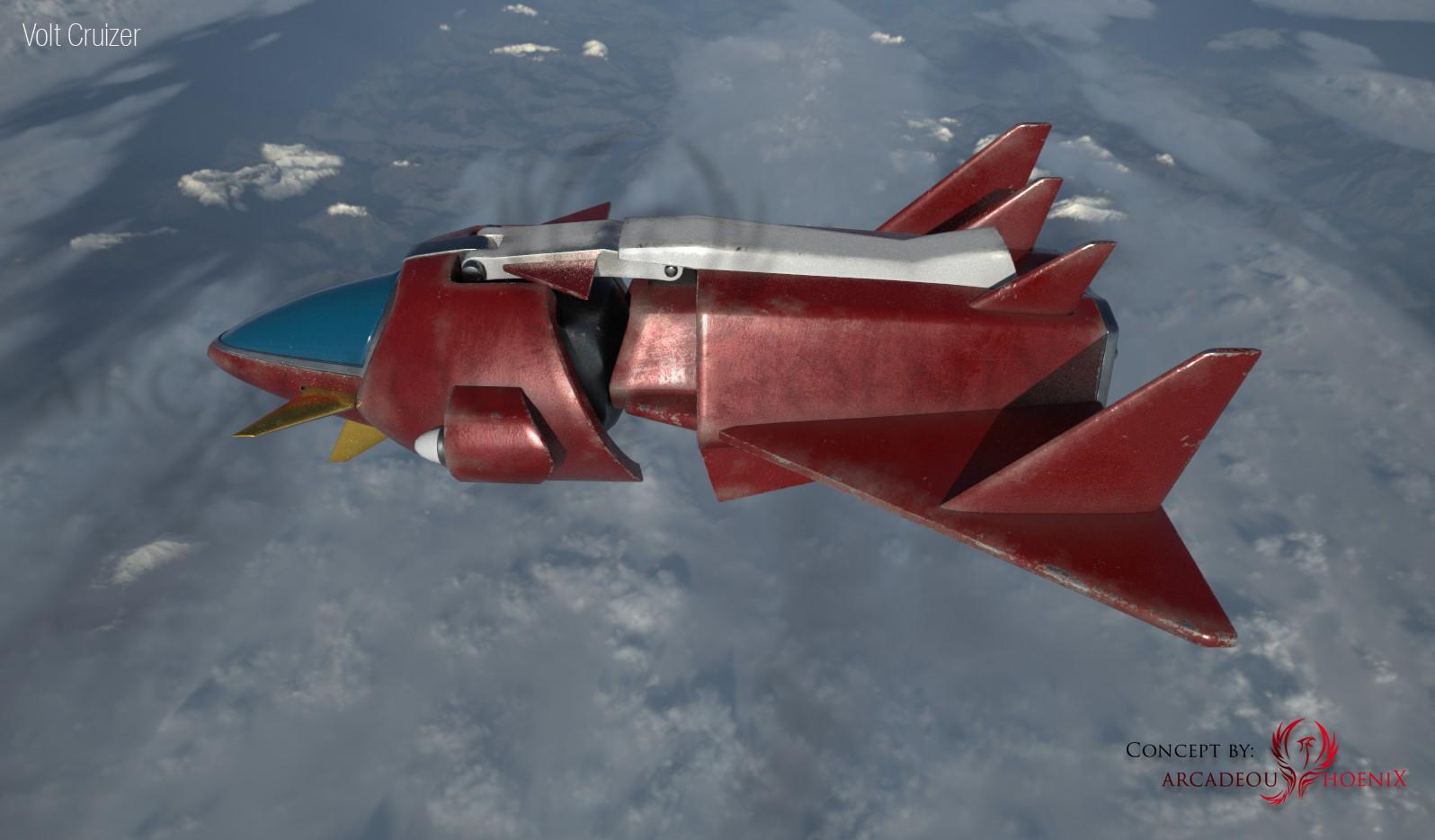Arcadeous phoenix volt cruiser cam2