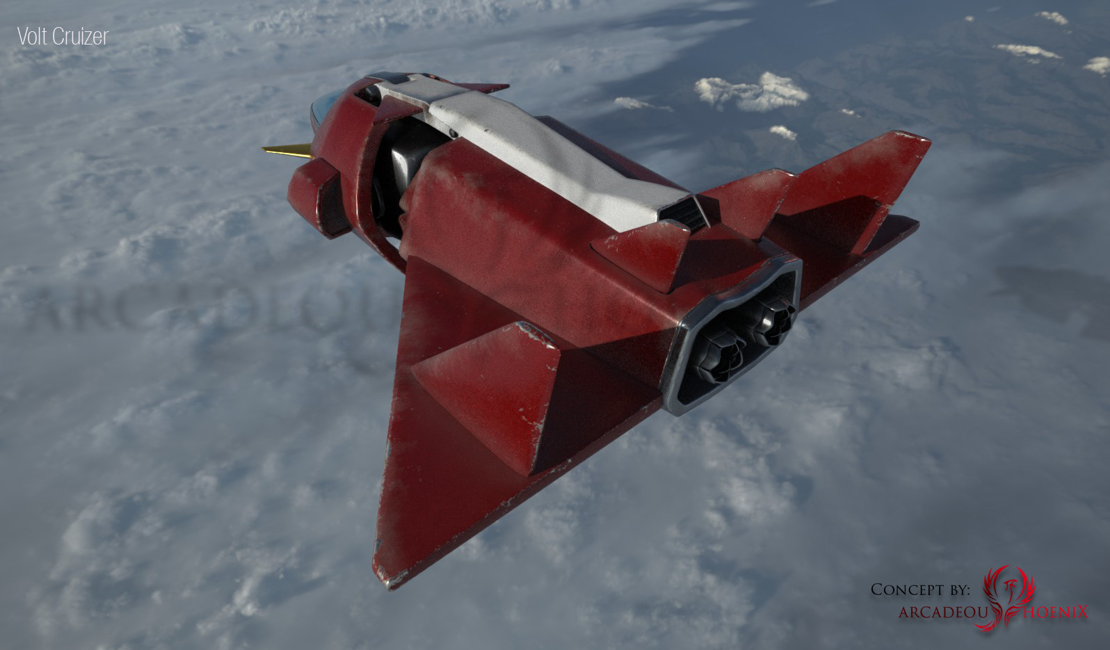 Arcadeous phoenix volt cruiser cam3