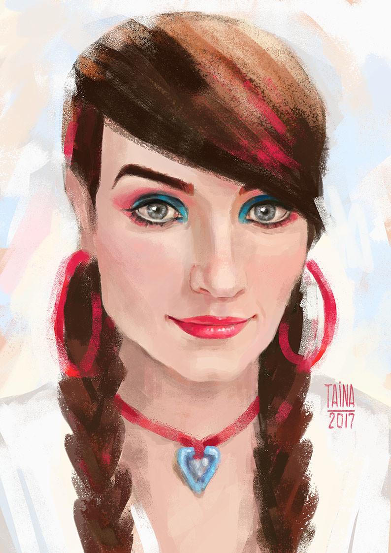 ArtStation - Natalie Mars, Taina Is