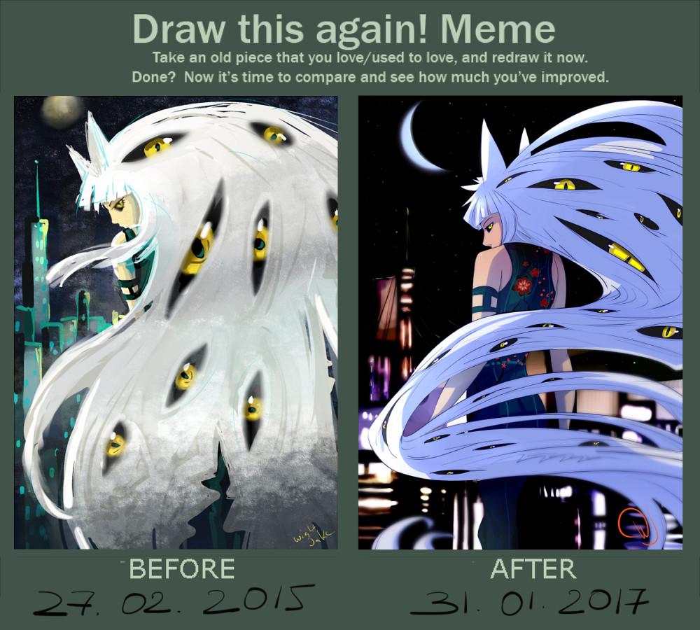 Artstation Draw This Again Meme Wightjakc