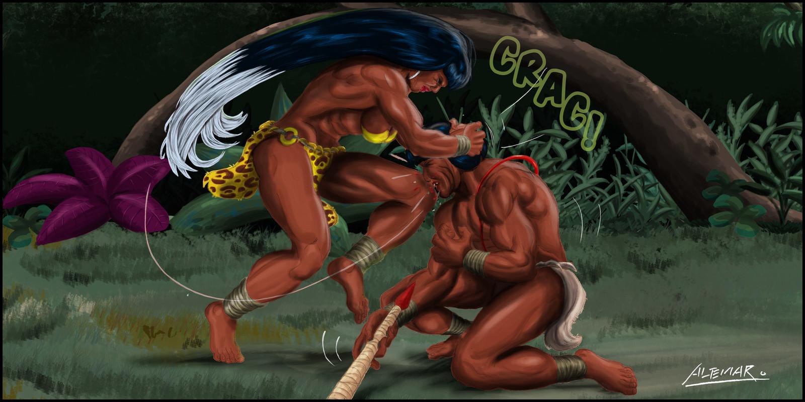 Jaguara - Strikes the enemy