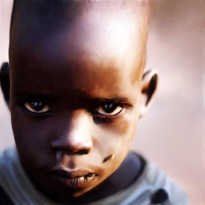 Jon yousef african boy portrait