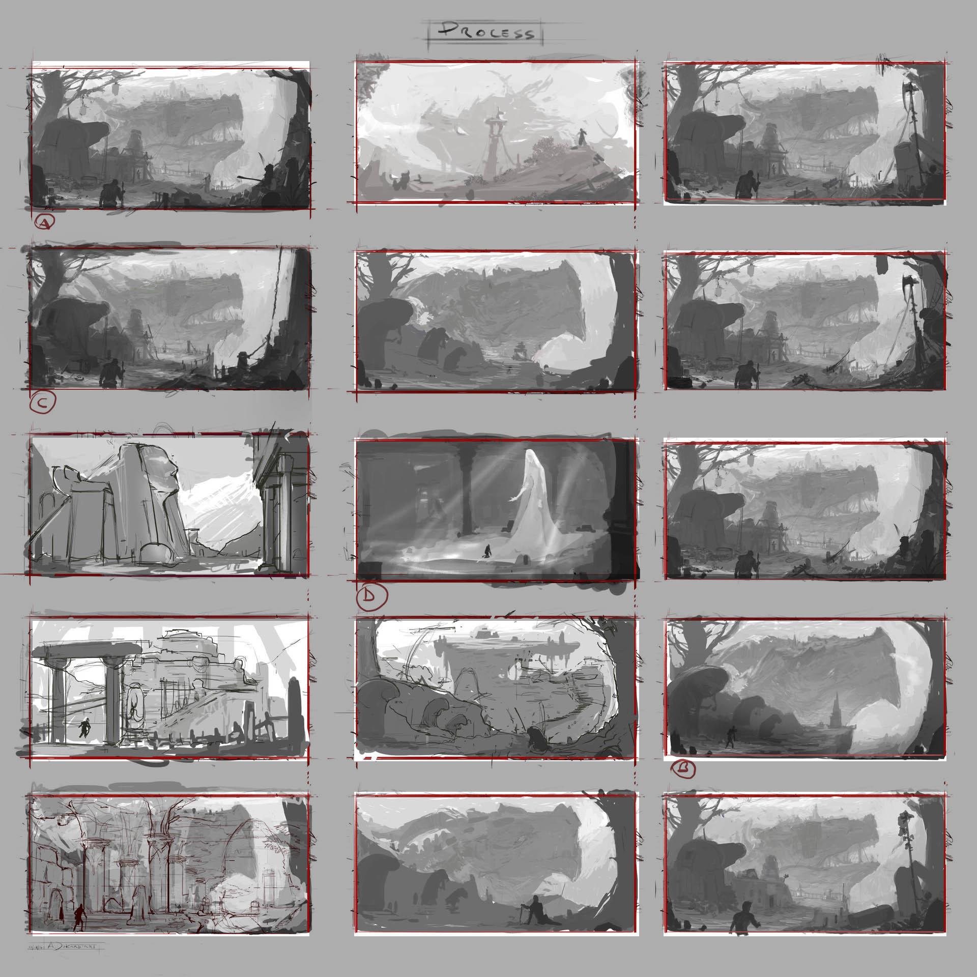 Alan dukardt 2d environment art challengeadukardtartconcepts