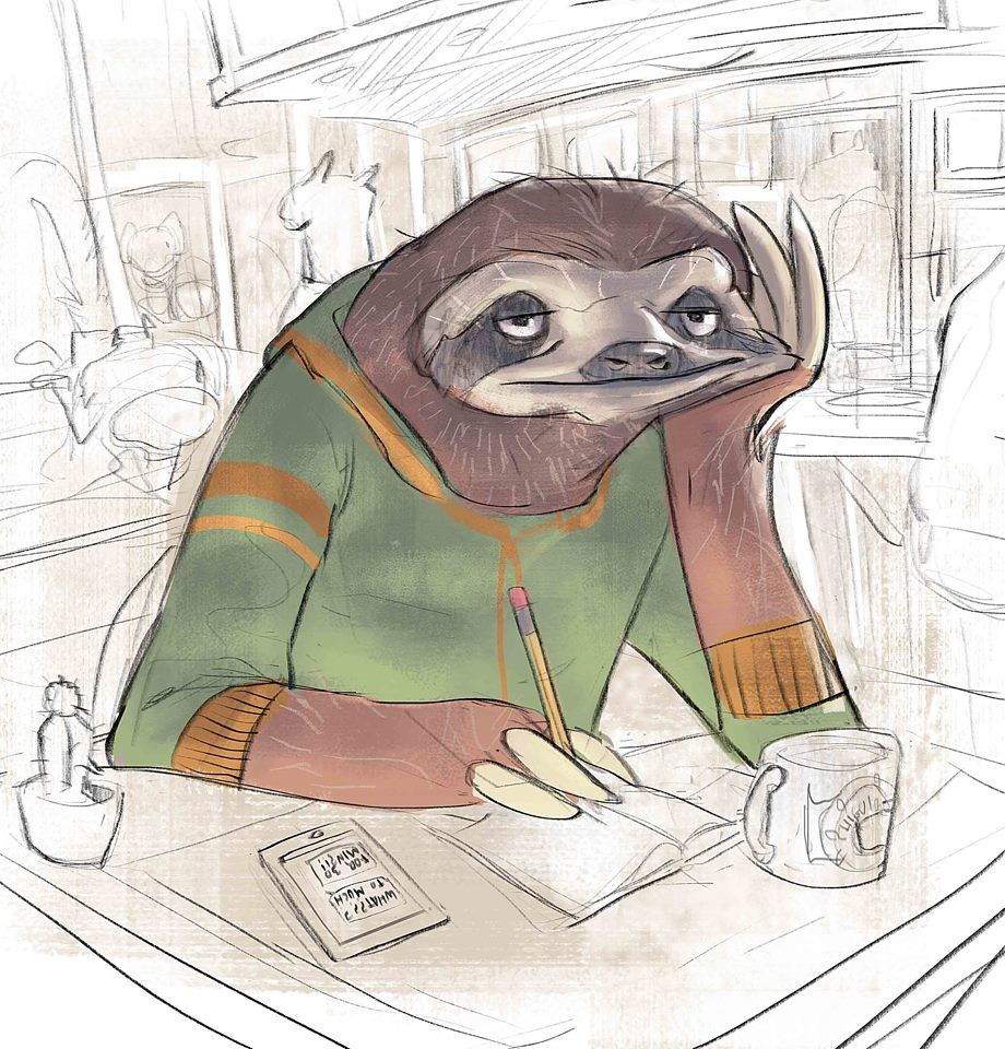 """fast sloth"" 