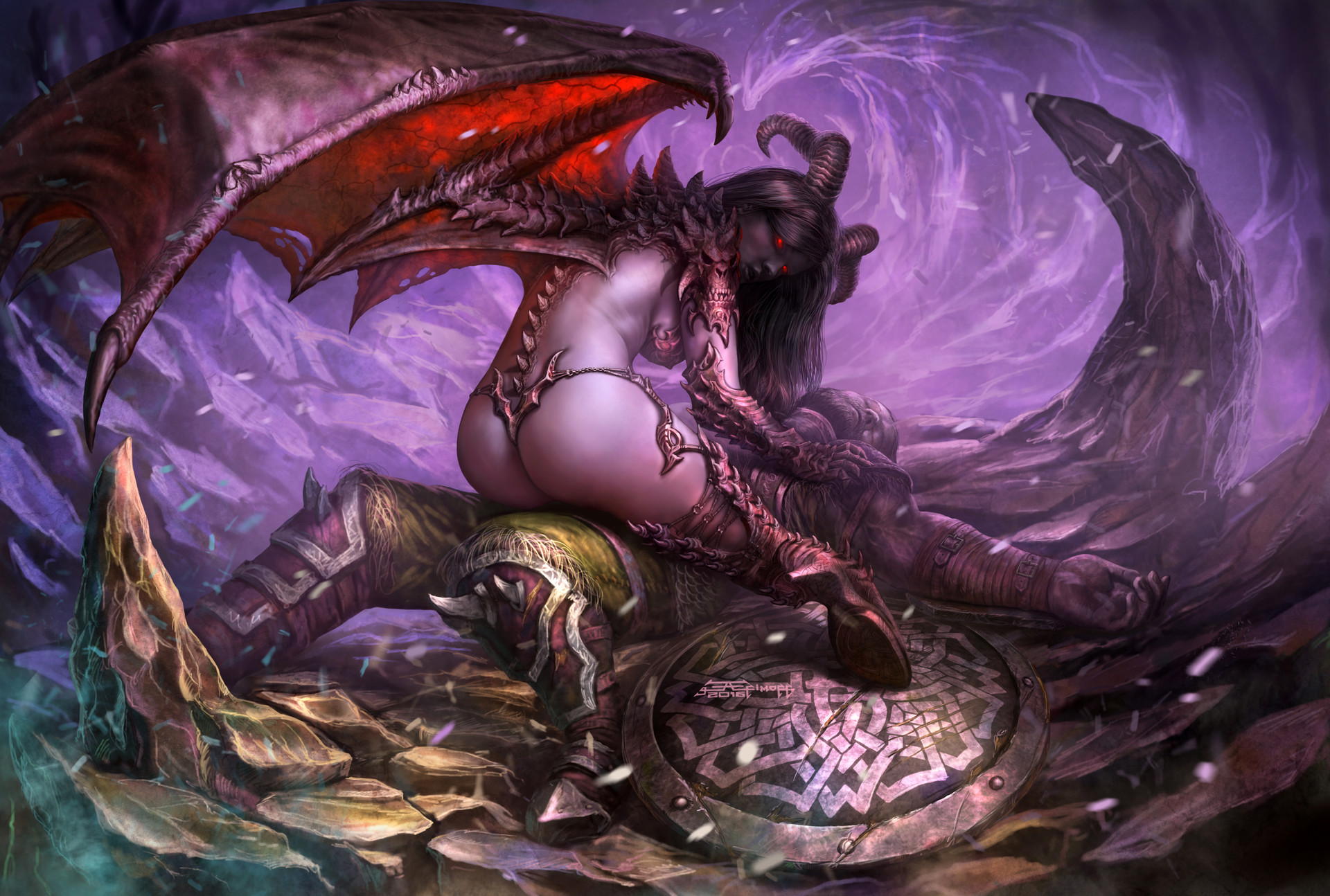 Succubus with male wallpapers hentia tube