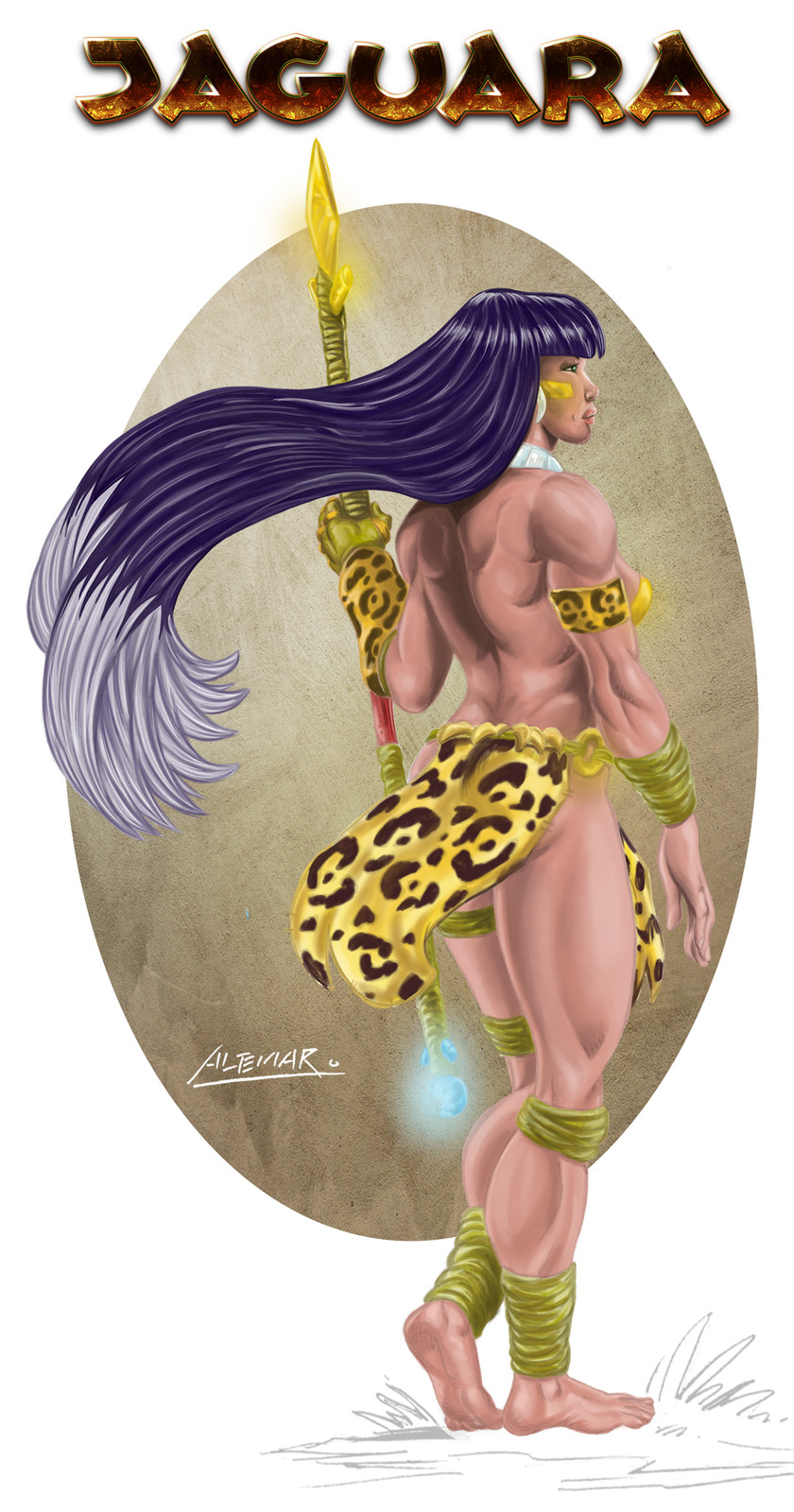 Jaguara - The great warrior