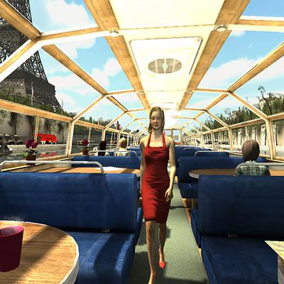 Jamie tiplady parisboat