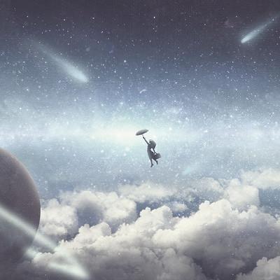 Daniele bianchin above the sky