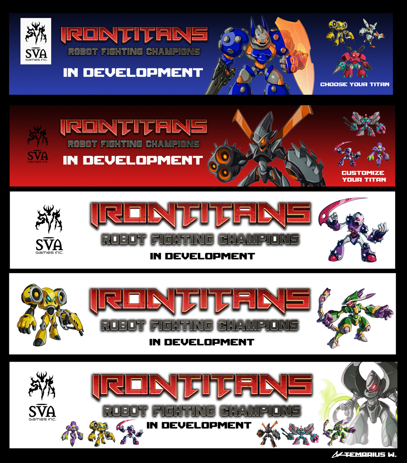 Iron Titans - Promotional Banner