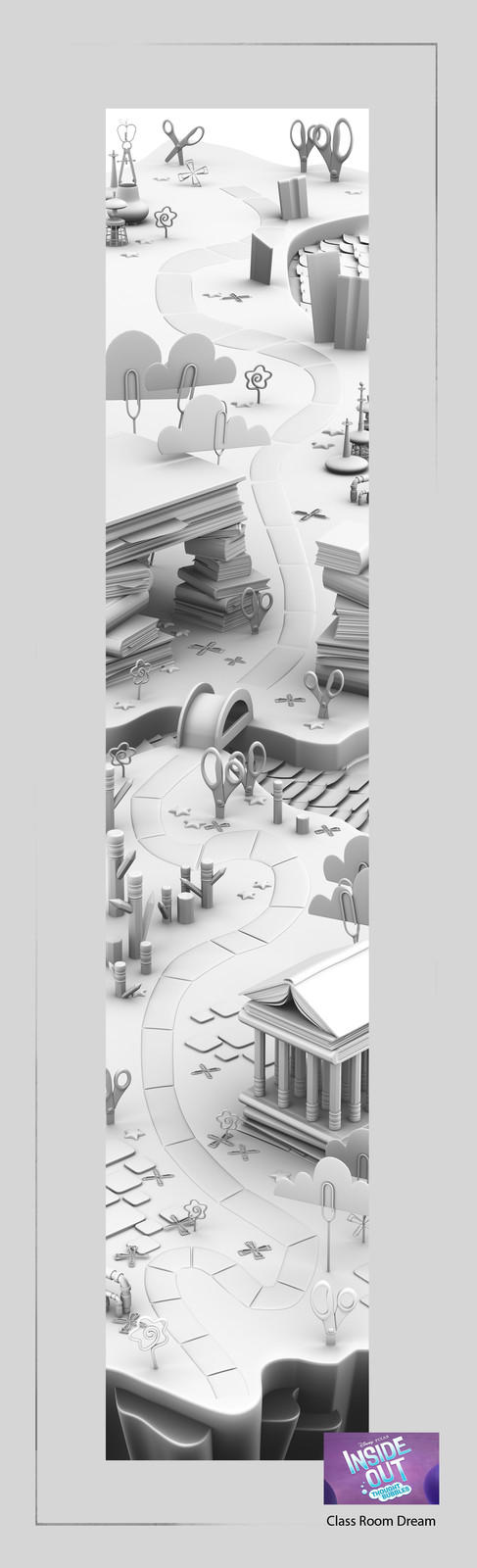 model game map ready for paint over