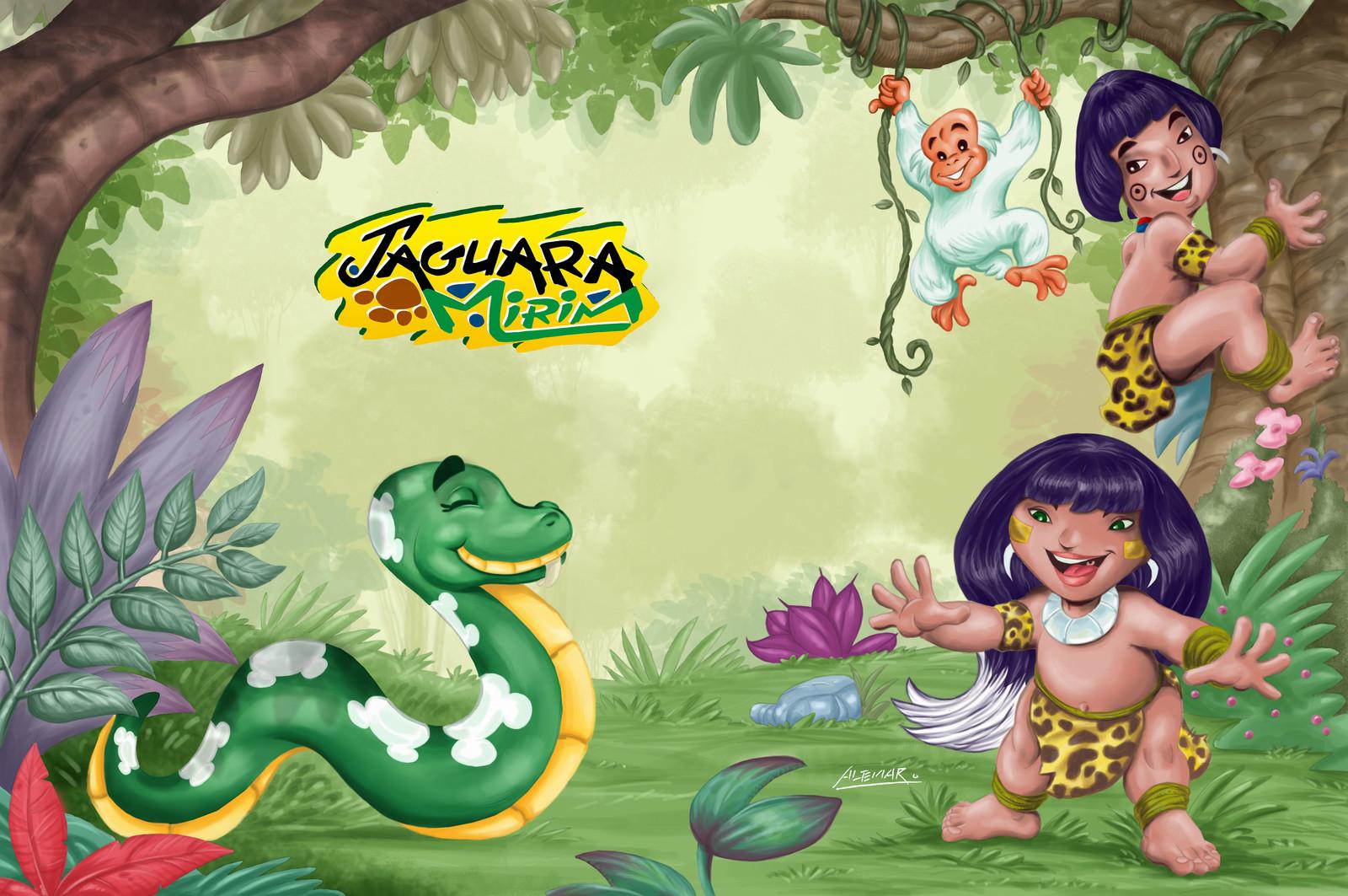 Jaguara Mirim - Meet her friends Nora, Joati and Kaique