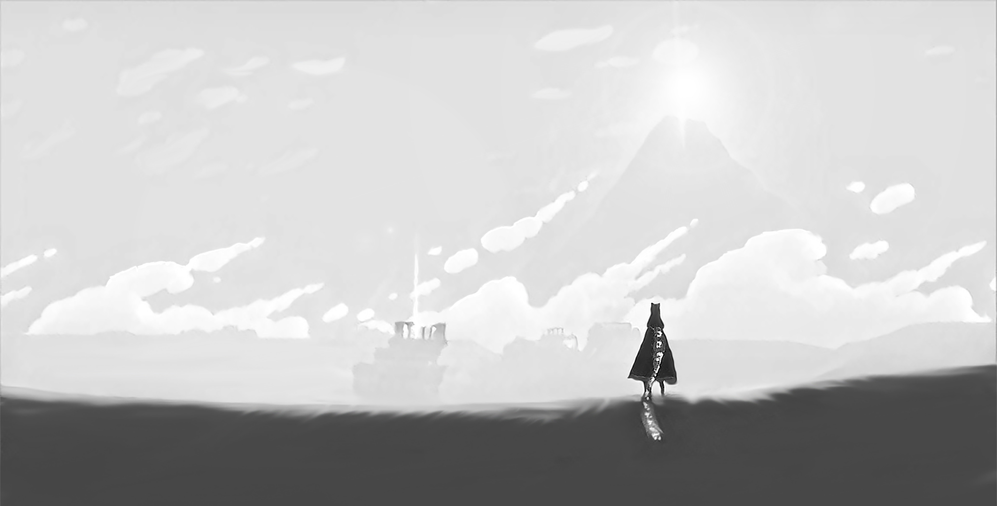 Black and White Journey