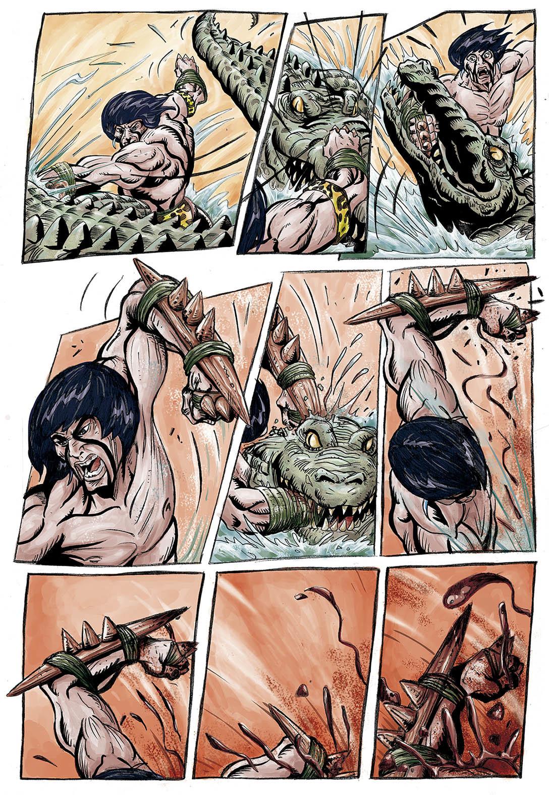 Jaguara - The Secret of Guarini Ka'i, new comic book, Scheduled for release in 2017