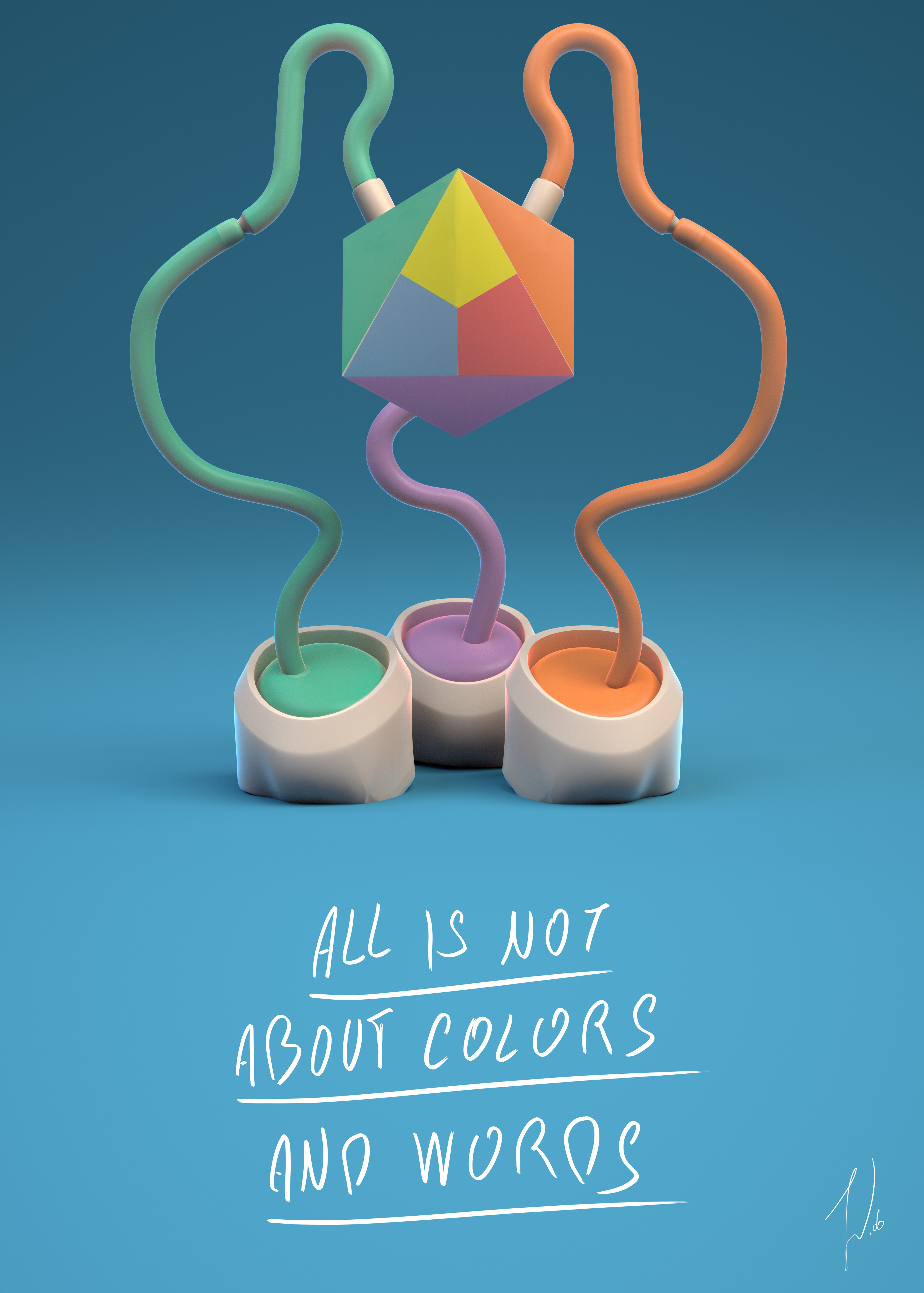 ''ALL IS NOT ABOUT COLORS AND WORDS '