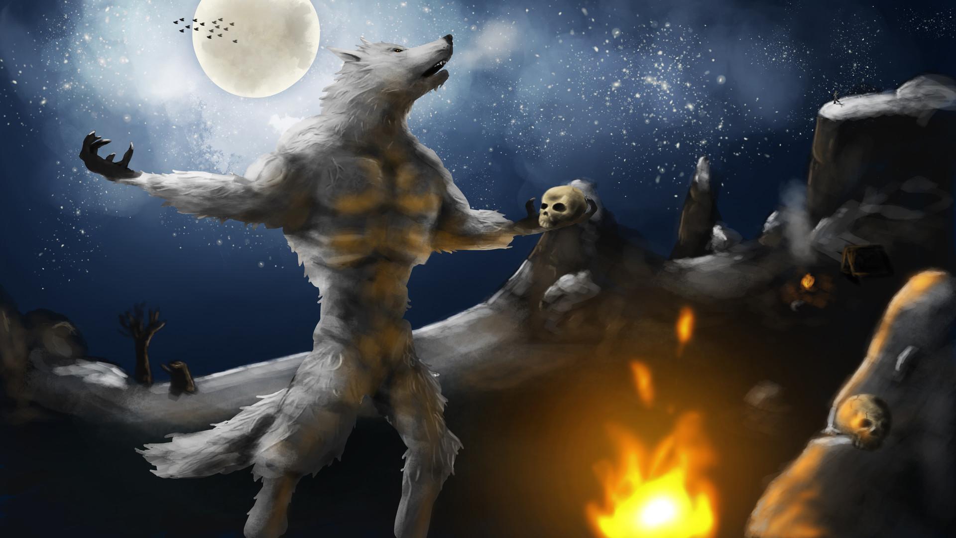 Hental werewolf pornos video