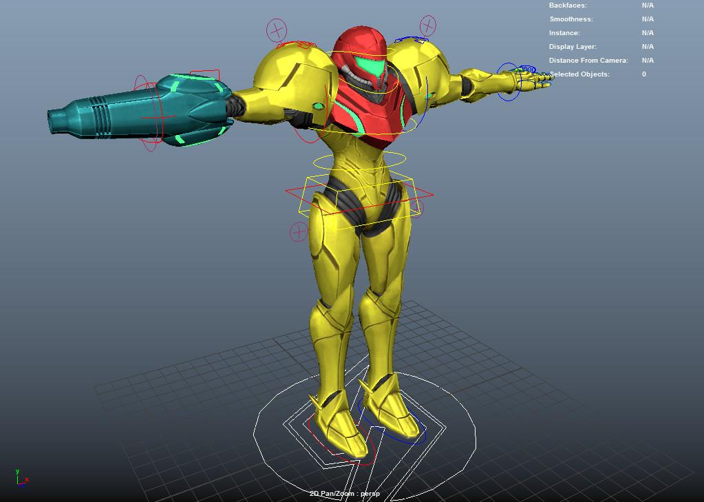 ArtStation - I Fixed Metroid Other M, Martin Ellis