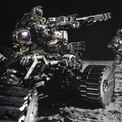 Jama jurabaev space hunters by jamajurabaev d7kyam1