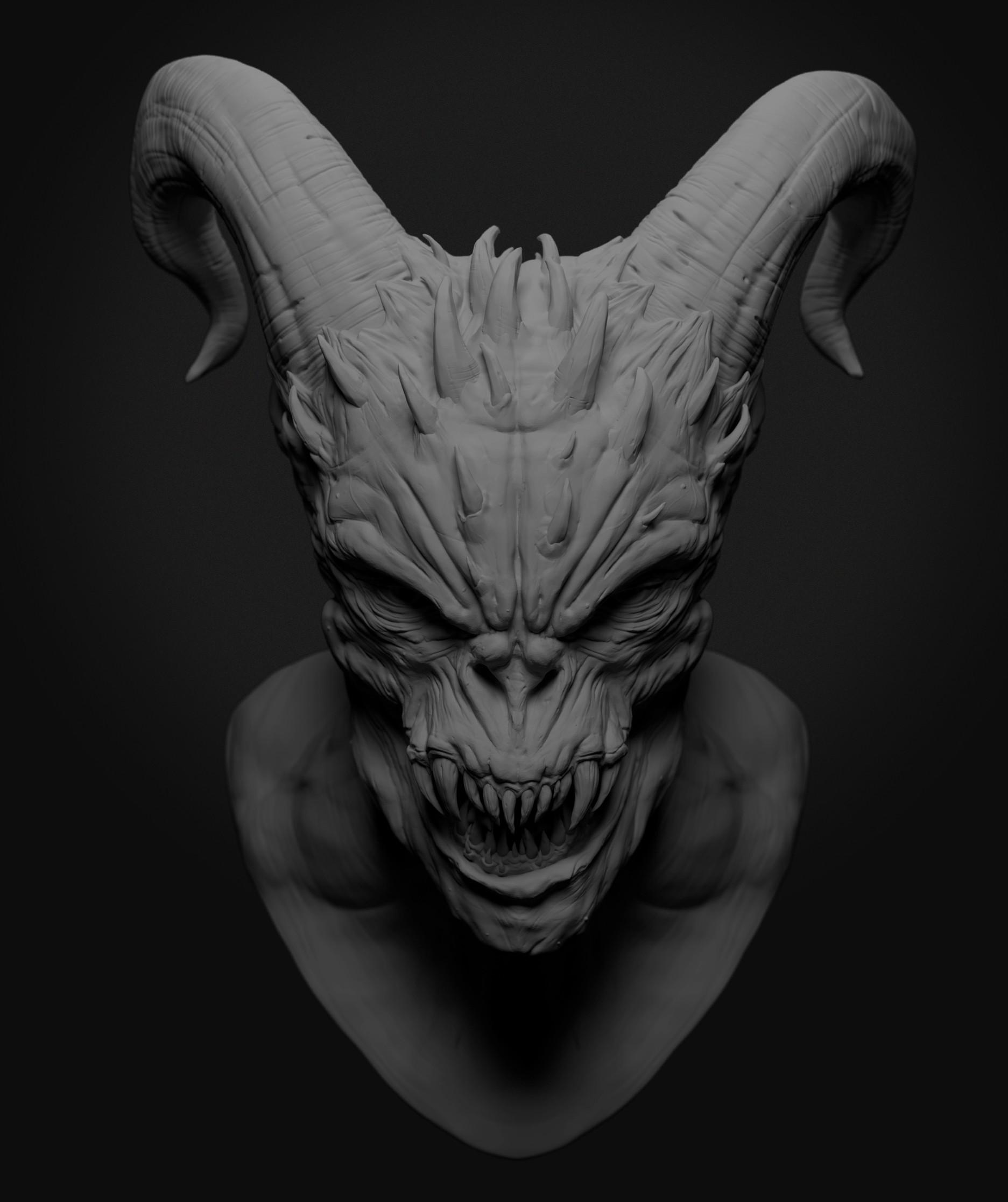 Ilhan yilmaz demon render v01 02
