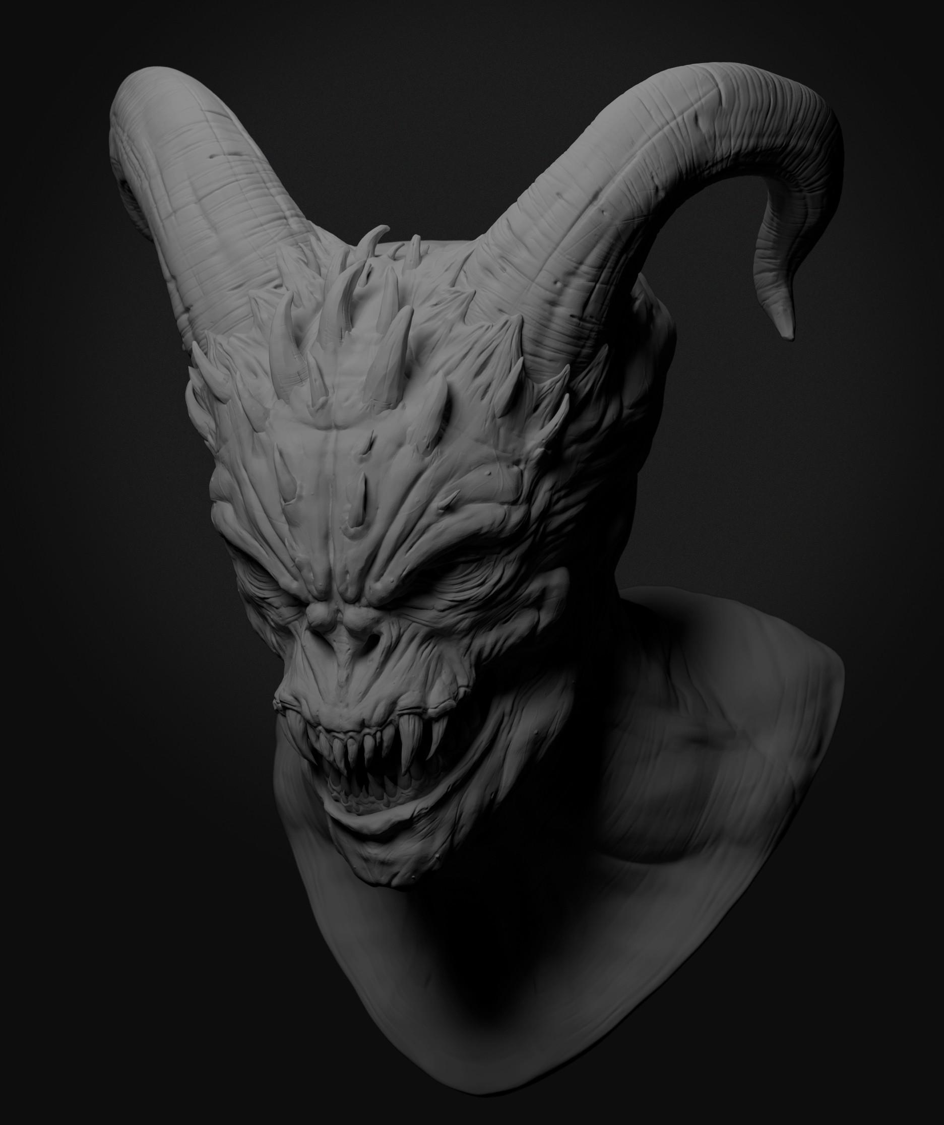 Ilhan yilmaz demon render v02 02