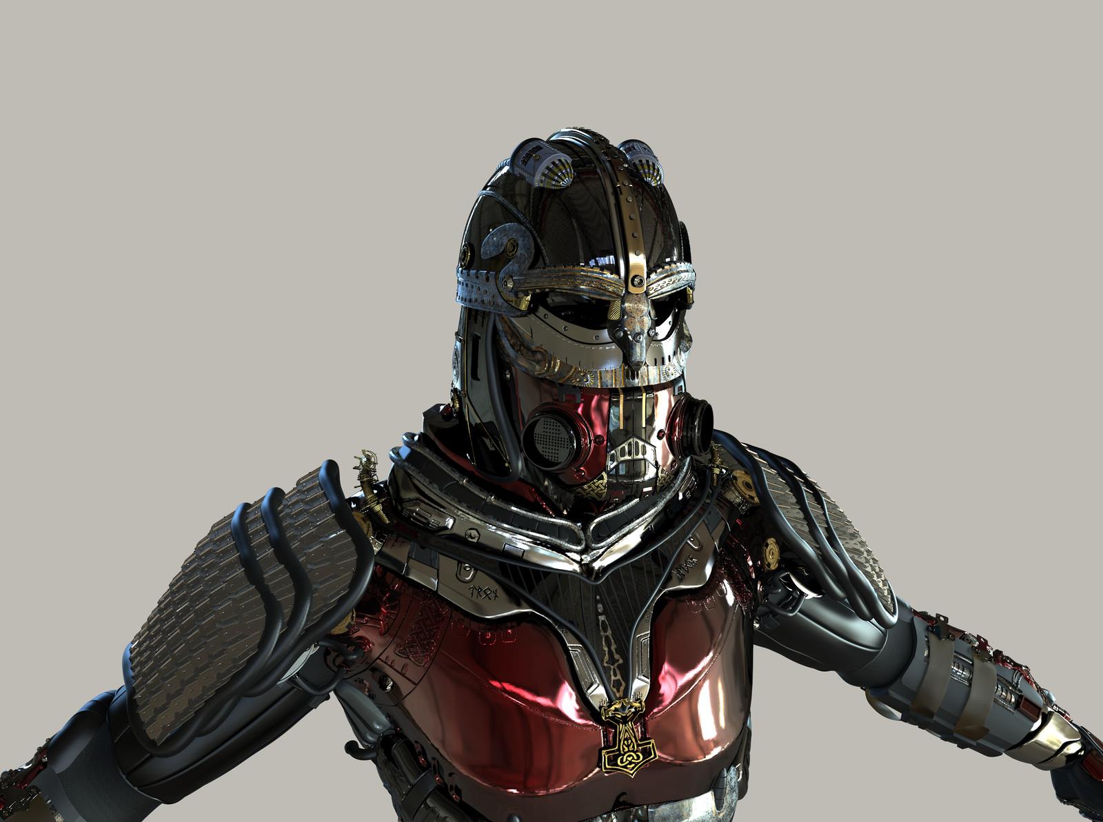 Futuristic Armor Viking based