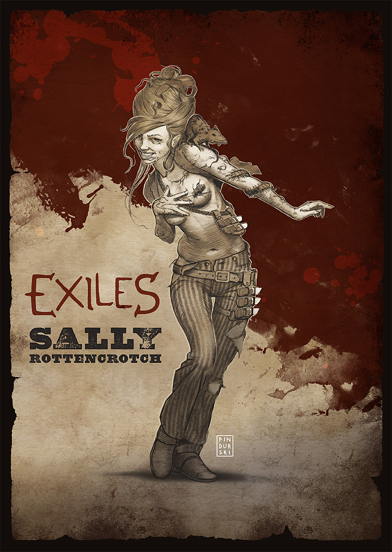 Exiles RPG: Sally Rottencrotch