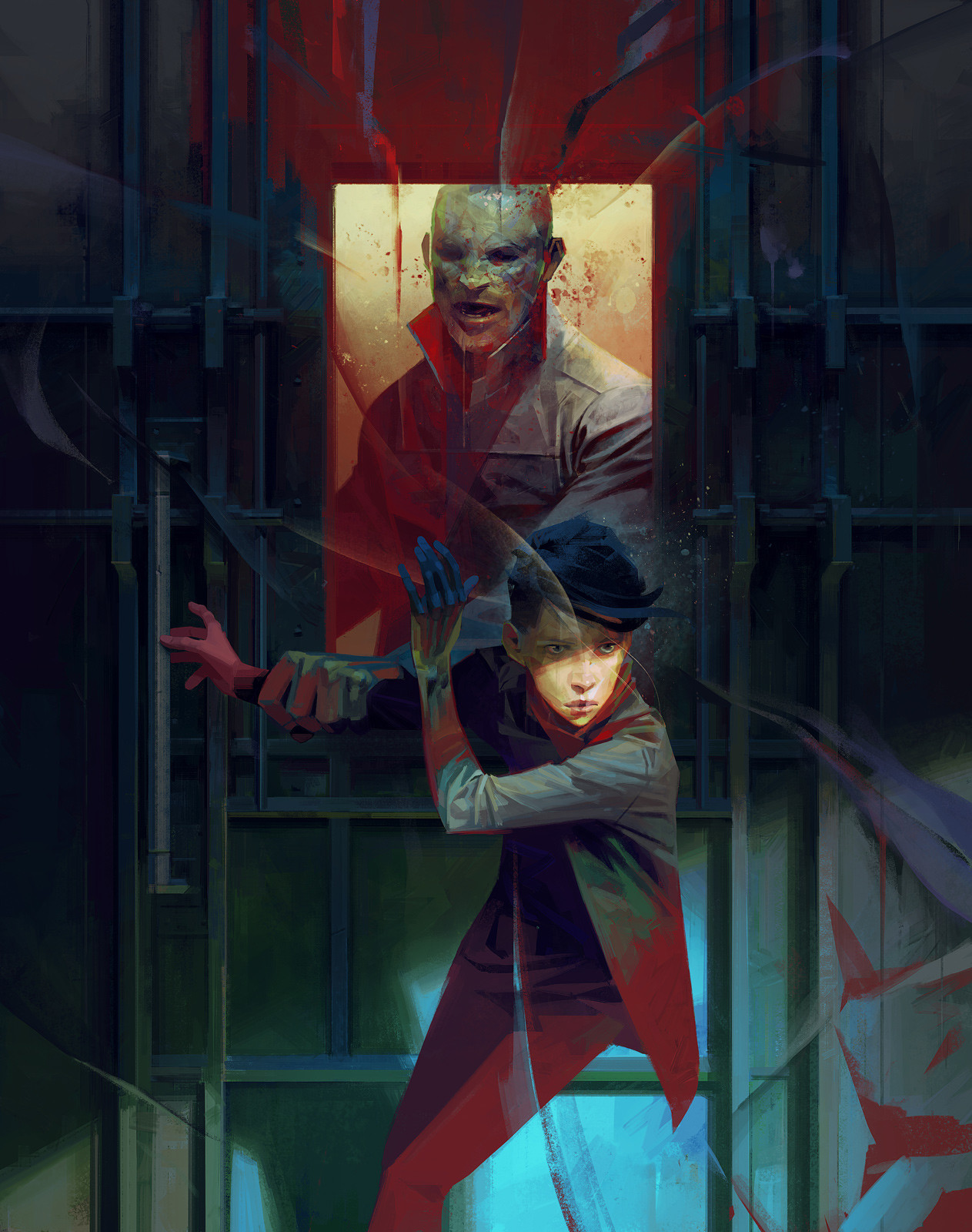 Sergey kolesov 01 delilah guard painting hd
