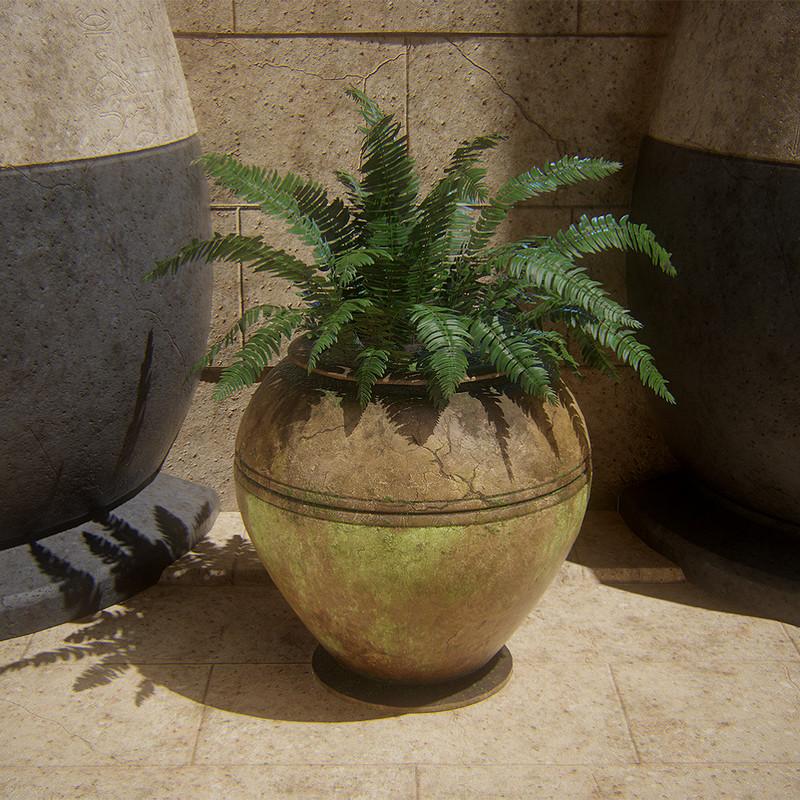 Pot - Diorama