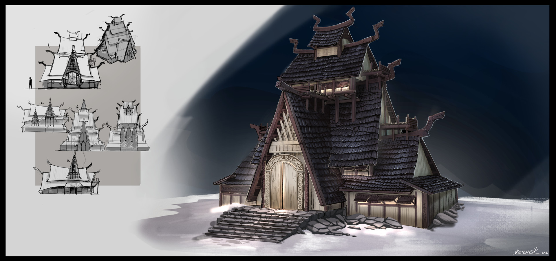 Henrik lundblx viking house uplox