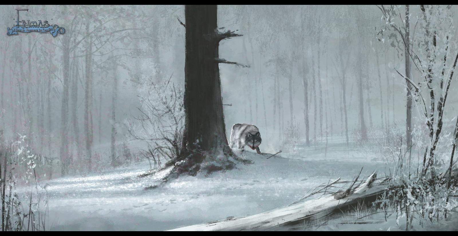 Frimas Artwork, Wolf