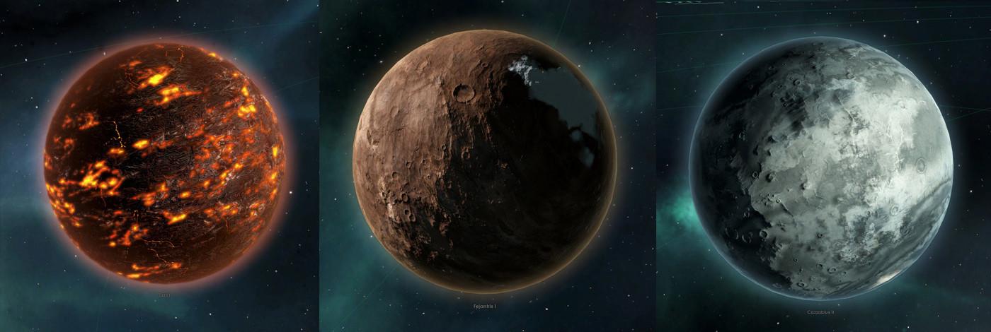 ArtStation - Stellaris game, various assets, Joakim Larsen