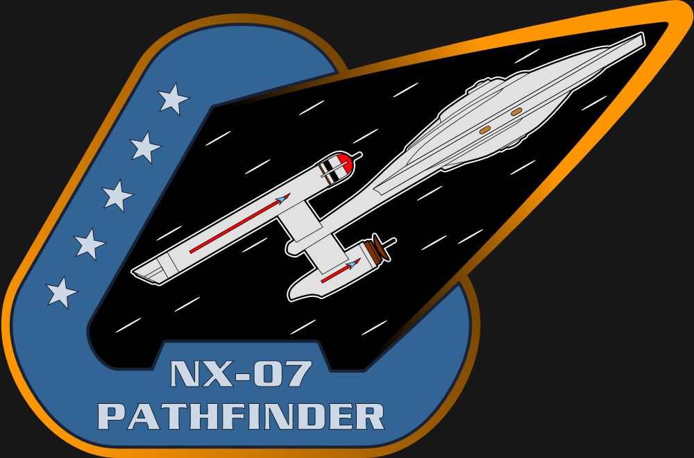 Assignment Patch for UESPA-NX-07 Pathfinder (inspired on the patch from NASA mission STS-61-c)