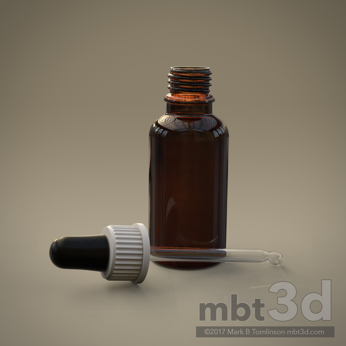 Glass Pipette Bottle