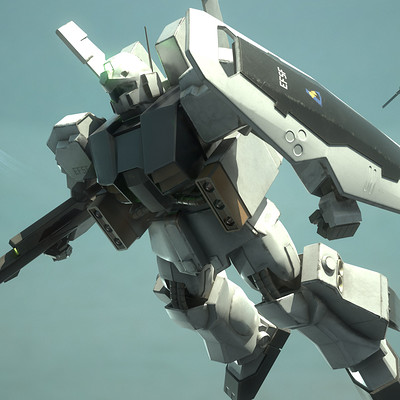 Alex voysey mobile suit hi quel 01 pose 1