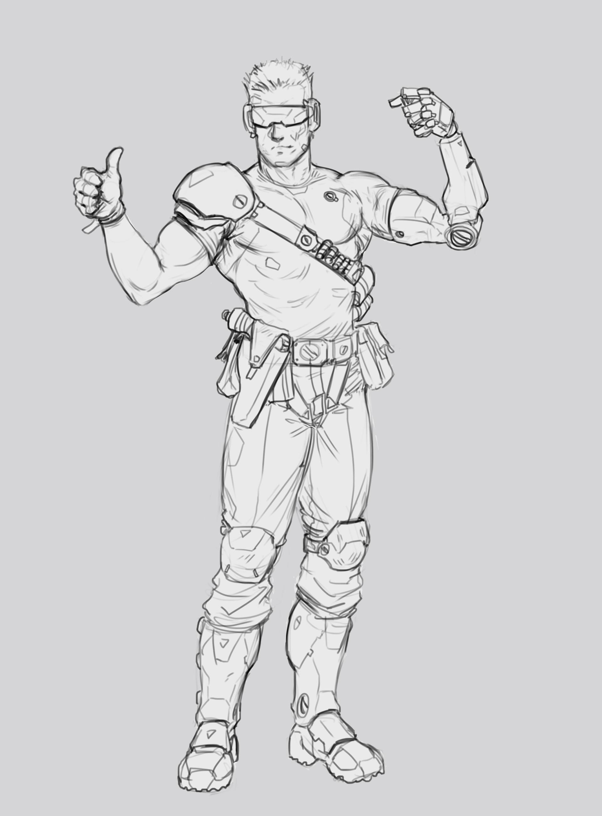 Salvador trakal sketch25