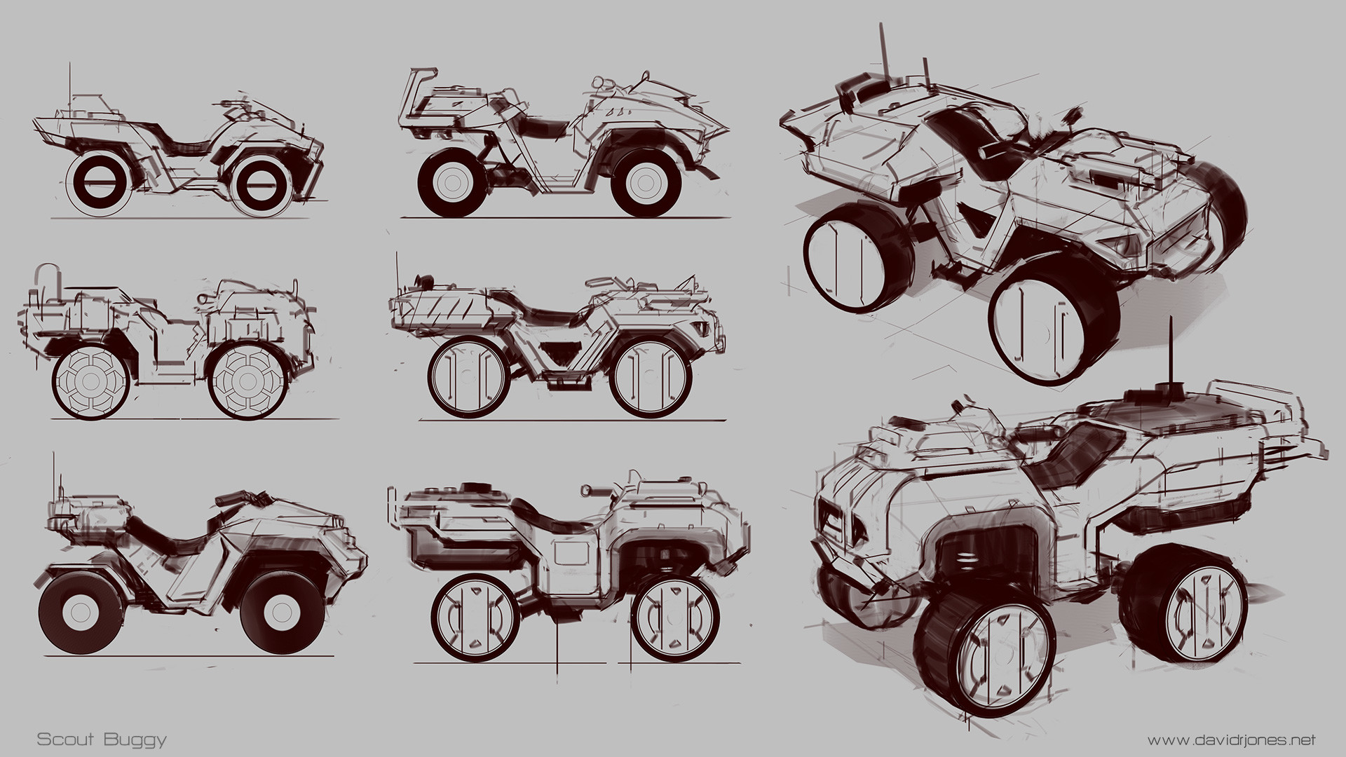 Dave jones buggy sketch
