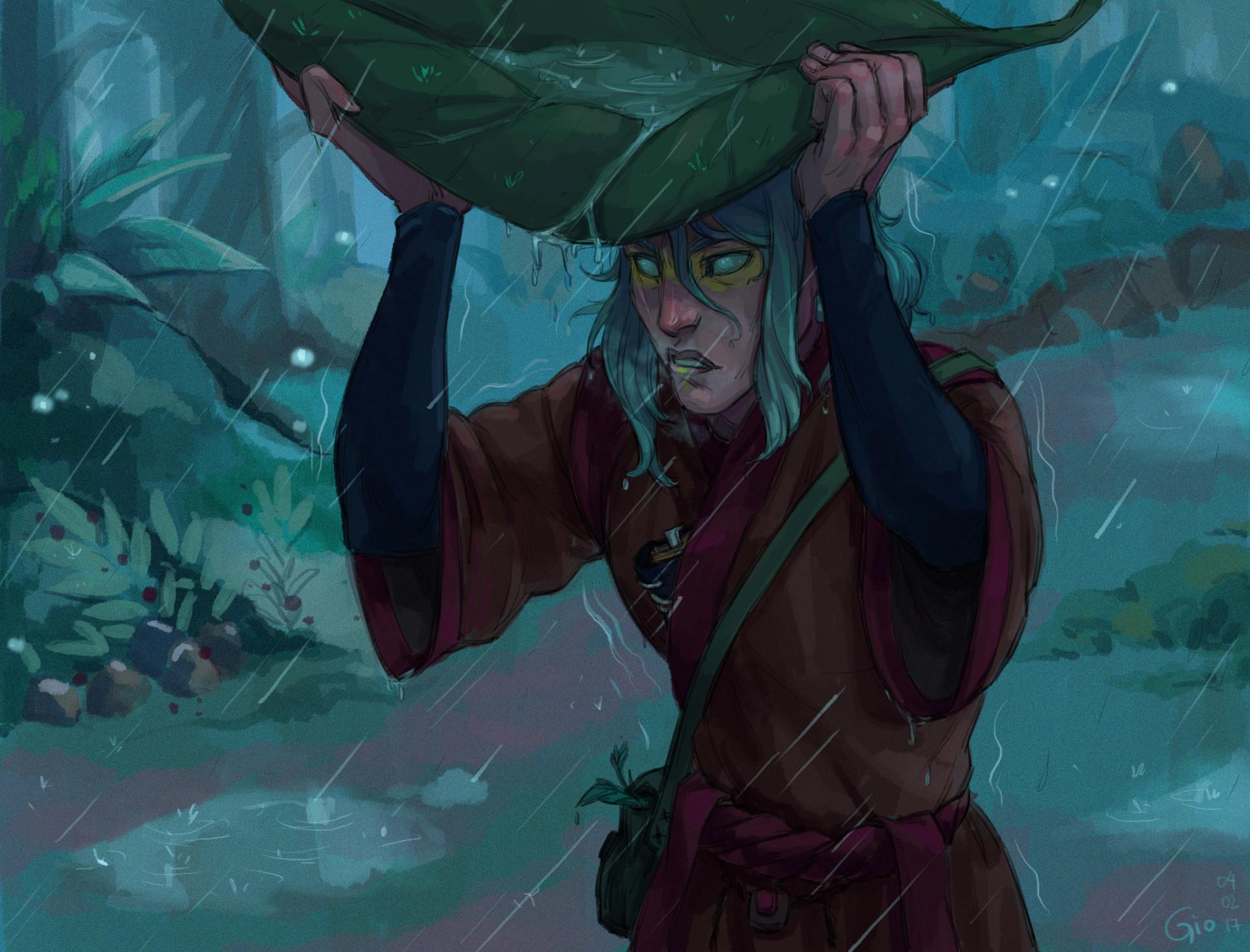 издержки арты по скайриму с лесными эльфами наклеенными