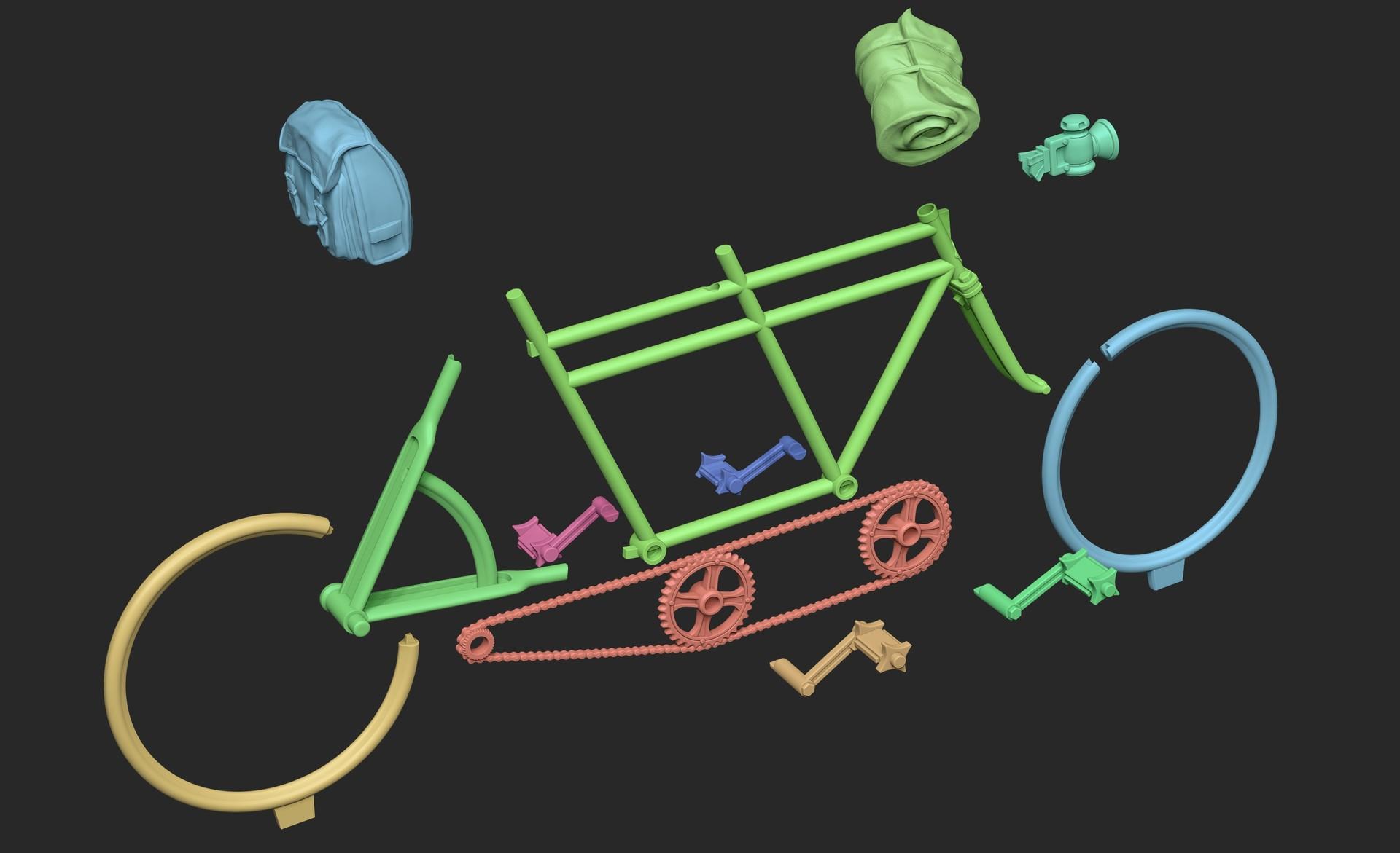 Nacho riesco gostanza despiece bici