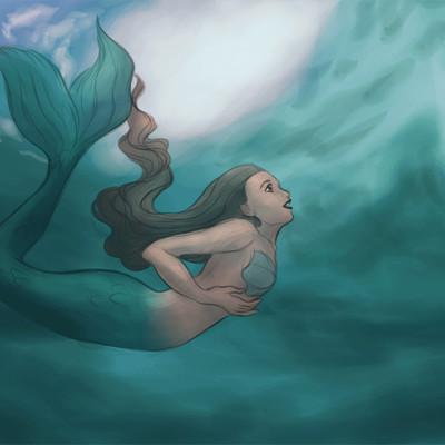 Dimitris karakousis mermaid animation by dimitrikjr daehatu