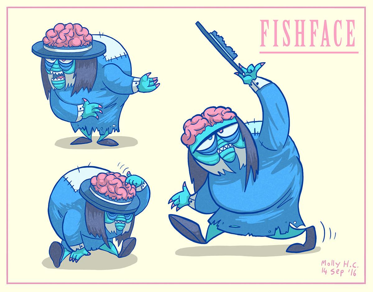 Molly heady carroll fishface