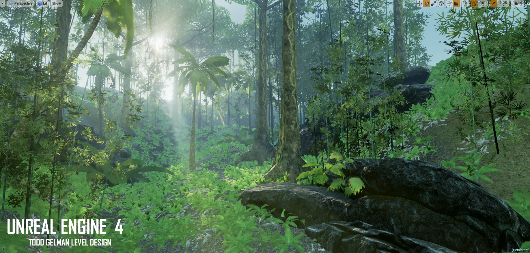 Artstation Unreal Engine Level Design Environment Design Todd Gelman