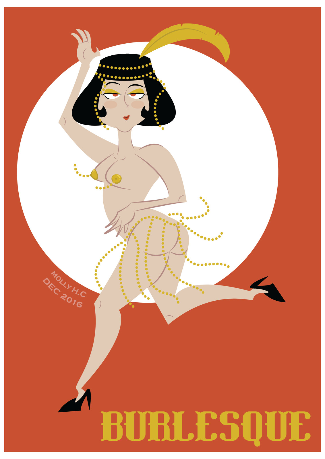 Burlesque Pin-Up