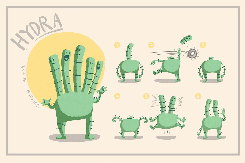 Hydra Concept Sheet