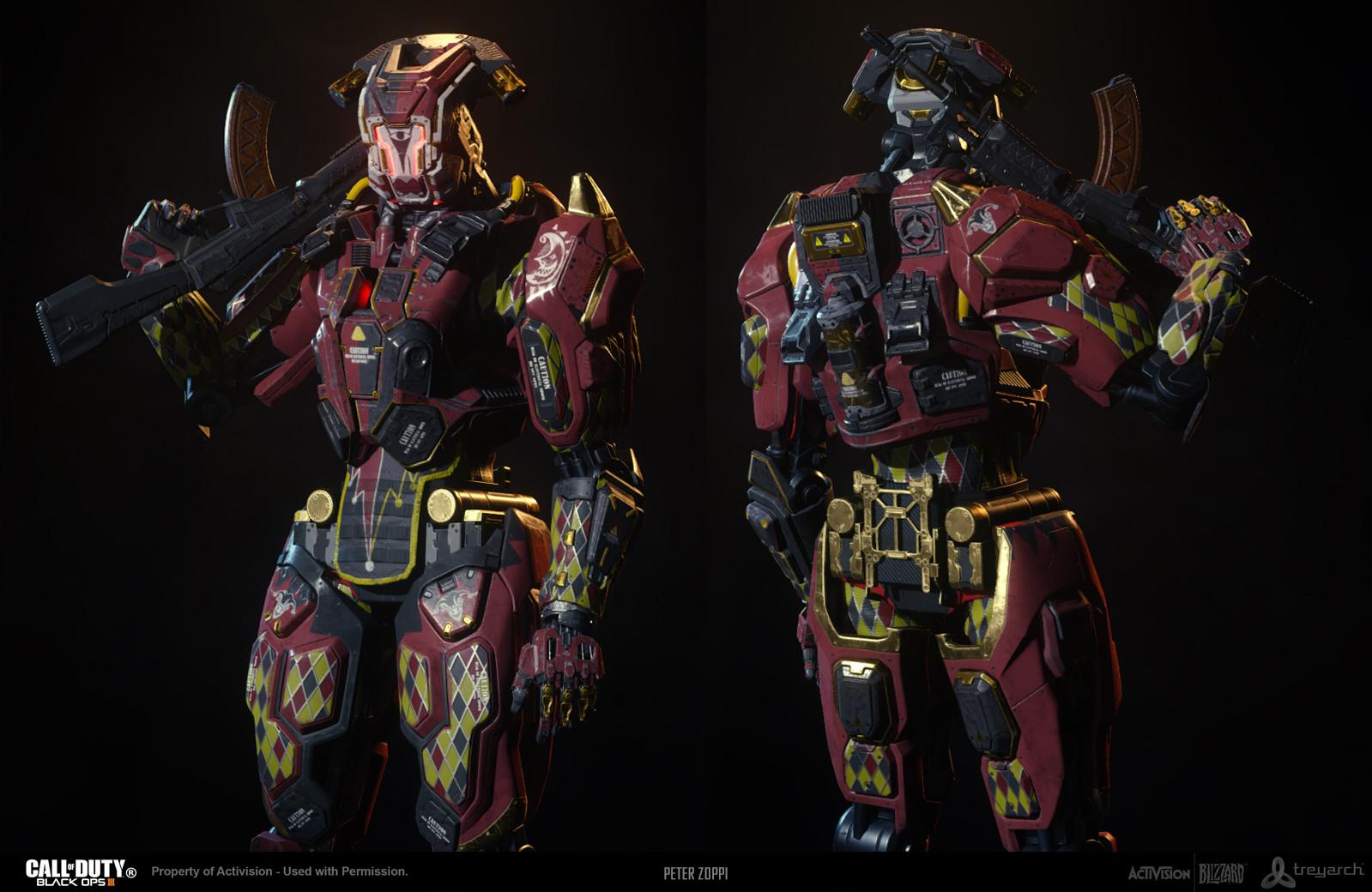 Black Ops 3 - Reaper - Jester Theme